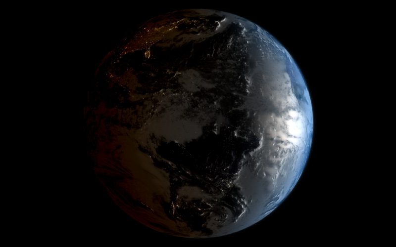 Ivan Safrin - Real time satellite view of earth